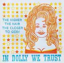 Dolly Parton    Vintage Looking   Travel Decal  Luggage Label  Sticker