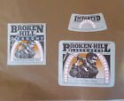 VINTAGE SOUTH AUSTRALIAN BEER LABEL - S.A BREWING BROKEN HILL DRAUGHT LOT OF 2