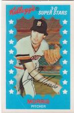 JACK MORRIS 1982 Kelloggs card #5 Detroit Tigers NR MT