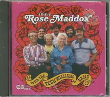 Rose Maddox With The Vern Williams Band – This Is Rose Maddox (CD, Brand New)