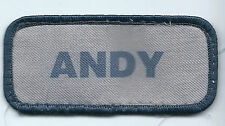 Andy name tag patch 1-5/8 X 3-5/8