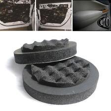 4Pcs Wavy Design Sound Insulation Soundproof Cotton Black for Car Door Speaker