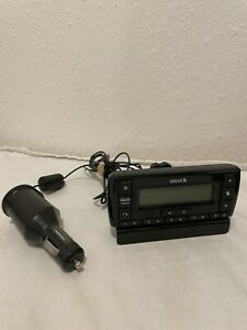 SIRIUS XM Stratus 7 SSV7 Satellite Radio Receiver With Vehicle Dock And Charger