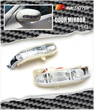 Door Mirror LED Side Signal Lights Lamps Set for Mercedes W203 C W211 E Class
