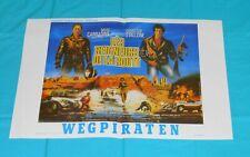 original DEATH RACE 2000 Belgian movie poster Sylvester Stallone David Carradine