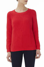 Zip Cotton Blend Crew Neck Jumpers & Cardigans for Women
