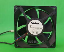 1pc NIDEC B35502-35DEL7 PP749-A00 fan 12038 12V 1.40A 4pin