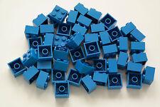50 Lego Bausteine 2x2 blau NEU Grundsteine Basic Steine 3003