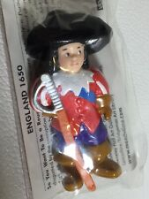 New Mondotime People Of The World England 1650 Soldier Knight Cute Hat UOA849