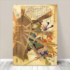 "Awesome Japanese SAMURAI FIGHT Art CANVAS PRINT 24x18""~ Kuniyoshi #147"