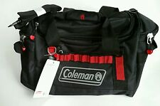 Coleman Tactical Gear Bag Duffle Travel Carry On Black & Red NWT