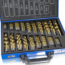 BITUXX® Bohrerset 230 tlg TITAN HSS Metallbohrer Spiralbohrer Holzbohrer 1-10mm