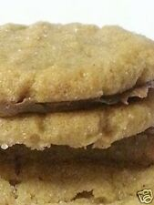 NEW ITEM Homemade PEANUT BUTTER SANDWICH COOKIES Filled with REAL CHOCOLATE YUM