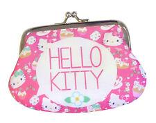 hello kitty TEA PARTY Geldbörse mit Glitzer PORTEMONNAIE mit Clip cool, chic TOP