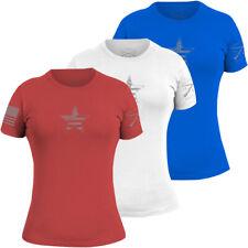 Grunt Estilo feminina básica American Star T-shirt