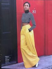 Naomie Harris 7pg INSTYLE magazine feature, clippings