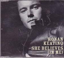 Ronan Keating-she Believes in Me Promo cd single