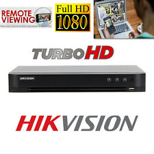 HIKVISION CCTV DVR 4CH TURBO HDTVI 1080P CHANNEL HD TVI HIGH DEFINITION P2P UK