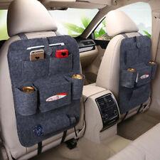 Car Auto Seat Back Bag Organizer Storage Phone Holder Multi-Pocket Hanging Gray
