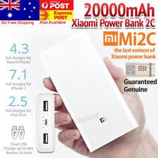 New Xiaomi Power Bank 2C 20000mAh Battery Genuine USB External Phone  Charger AU