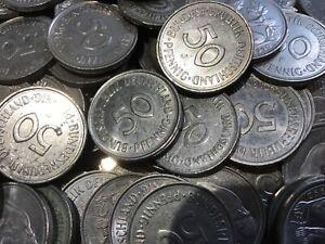 50 Pfennig BRD 1949 - 1996 A/D/F/G/J Umlaufmünzen