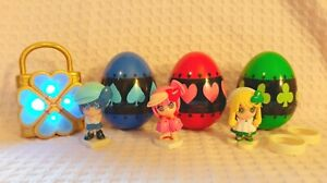 Shugo Chara Figure Toy Egg Humpty Lock Guardian Takara Tomy Peach-Pit (**READ**)