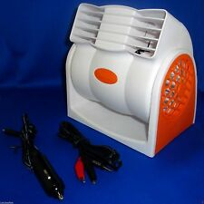 12VOLT DC 2SPD PORTABLE FAN BLOWER COOLER POWER FROM A 12V BATTERY OR CAR SOCKET