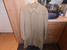 Vtg Aquascutum Aqua 5 Raincoat size 42R