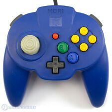 N64 - offiziell lizenzierter Controller / Pad #blau [Hori] JAP