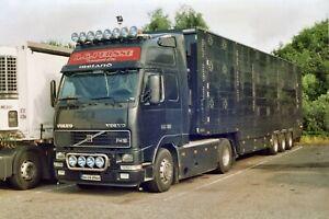 Truck Photos Irish Livestock Haulier RG Persse Volvo FH16 & Float 01-LS-2962