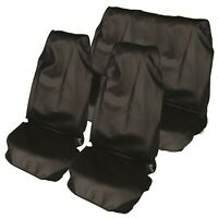 Volkswagen Car Seat Cover Waterproof Nylon Full Set Protector Black Front & Rear