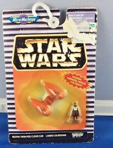 Star Wars Empire strikes Back Micro machines BESPIN CLOUD CAR W/ LANDO