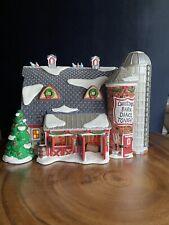 Christmas Barn Dance, Dept 56 Snow Village, excellent condition