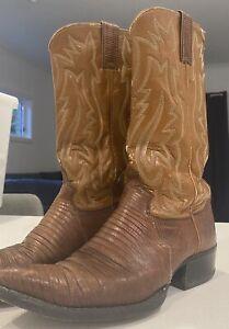 Vintage Justin Cowboy Boots - Size UK 6 - Genuine