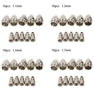 1.1mm-1.7mm Nozzle Tip Electrode Consumed By P80  P-80 Plasma Torch Copper