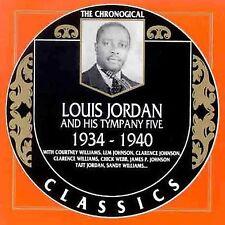 NEW Louis Jordan & His Tympany Five: 1934-1940 (Audio CD)