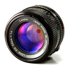 Canon FD 50mm F/1.4  US NAVY Lens  Mint Condition S/N 1044388