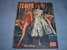 Marilyn Monroe Laureen Bacall Betty Grable On Housse 1953 Loisirs Italian Mag