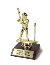 T-ball, Male Trophy- Batter- Team Award- Desktop Series- Free Lettering