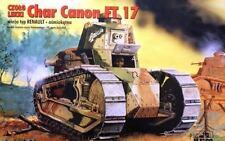 RENAULT FT 17 CANON (U.S, FRENCH, ITALIAN, POLISH & GERMAN MKGS) 1/72 RPM RARE!