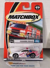 Camaro Police #89 * White w/ DARE Tampo * Matchbox * NA25