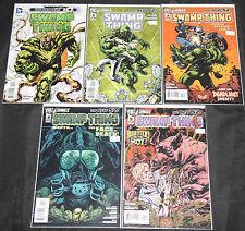 Dc Modern Swamp Thing Vol. 5 - 5pc Count Mid-High Grade Comic Lot Vf-Nm #0, 2-5