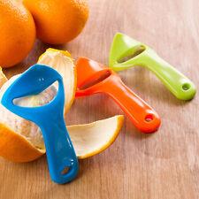 New Citrus Orange Opener Peeler Slicer Cutter Plastic Lemon Fruit Skin Remove JF