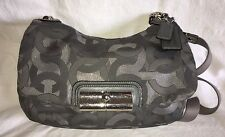 COACH KRISTIN METALLIC JACQUARD HIPPIE Convertible Purse Bag-18281-MINT
