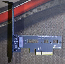Up to 3300M/s PCI-E 4X for M.2 SSD ADAPTER SM961 SM951 950Pro Cooling version