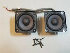 Genuine OEM Pair Of Bose 302612-001 Speakers Replacement For SoundDock Portable