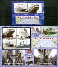 WHOLESALE LOT OF TONGA 2012 SINKING OF THE TITANIC SET X 25 - $512.50 VALUE!