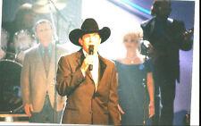 Rare George Strait Candid 4 X 6 Awards Show Photo