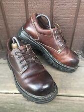 Aldo Womens Size 10-10.5 US/41M EUR Brown Leather LaceUp Oxford Casual Shoes-467