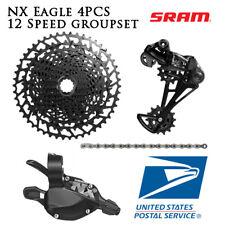 SRAM NX Eagle 12 Speed 4pcs Groupset MTB Rear Derailleur Shifter Cassette Chain